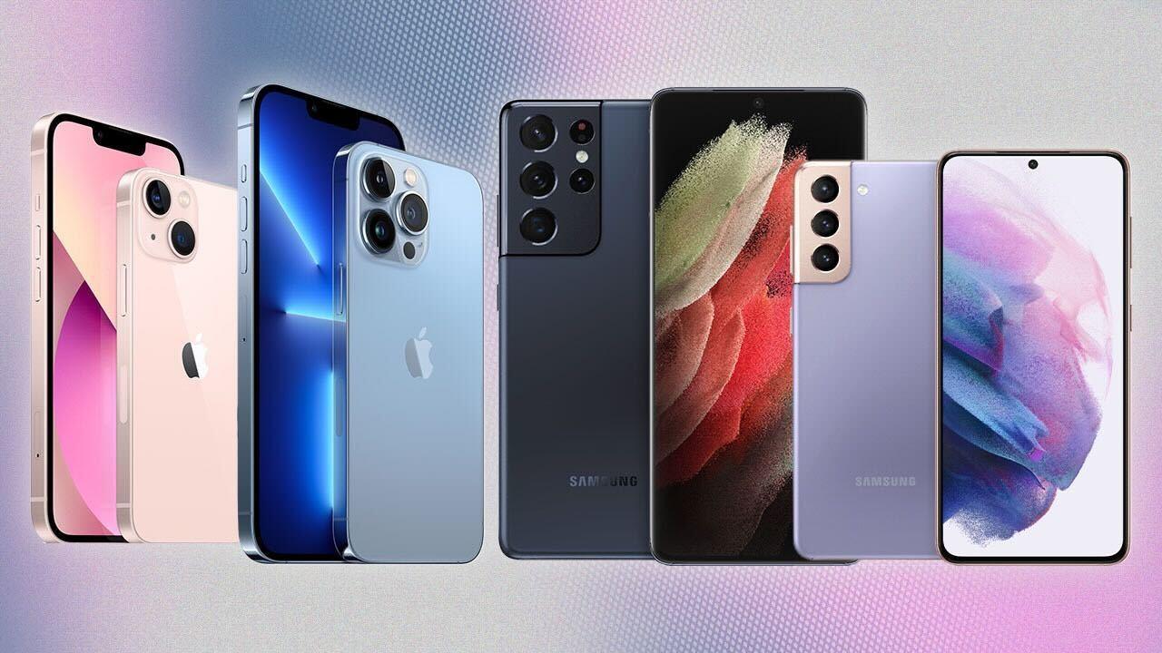 iphone 13 vs samsung s21